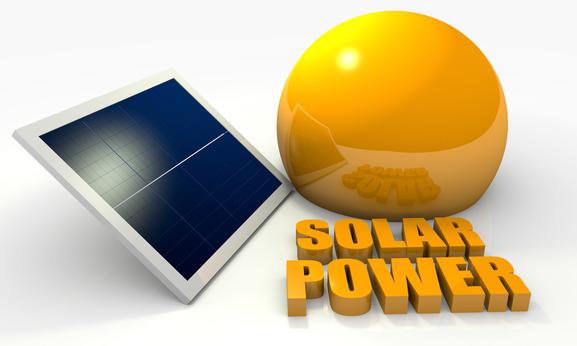 Renewable energy, solar panel
